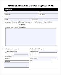 work order form templates memberpro co