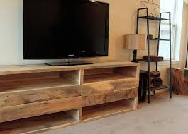 reclaimed wood tv console home decorations insight