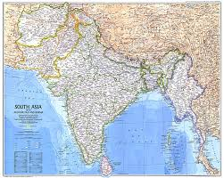 Map Of Oz South Asia With Afghanistan And Burma Map