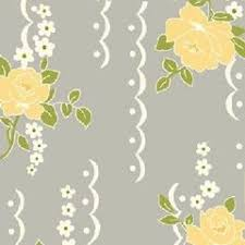 Shabby Chic Quilting Fabric by Cotton Quilt Fabric Nine Dots Rose Fabric Shabby Chic Gray Floral