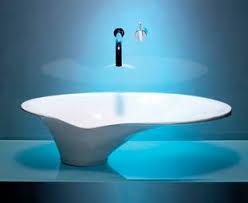 design aufsatzwaschbecken aufsatzwaschbecken aus harz modern scoop philip watts design