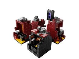 buy lego minecraft the nether 21106 online at low prices in india