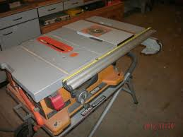 Job Site Table Saw Adding A Router To A Ridgid Ts2400ls Portable Table Saw The