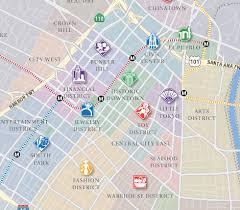 map of downtown los angeles los angeles estate community spotlight downtown la