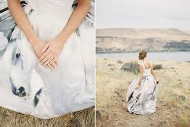 wild pegasus wedding dress photoshoot