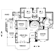 contemporary style house plans contemporary style house plan 4 beds 3 50 baths 3317 sq ft plan