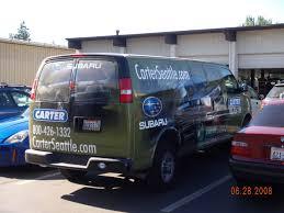subaru microvan van wraps seattle custom vinyl van graphics decals u0026 wraps