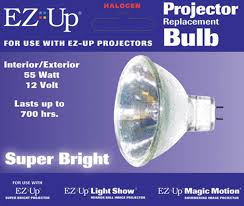 christmas lawn decorations ez up projector replacement bulb