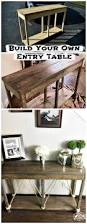 entry table ideas 25 best diy entryway table ideas with tutorials page 3 of 3