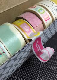 washi tape wednesdays a diy storage solution