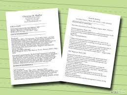 What Is The Best Font For Resumes by 7 Ways To Make A Resume Wikihow