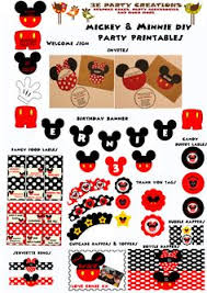 diy free printable mickey mouse minnie mouse templates disney