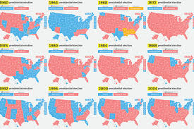 Midterm Election Map by How Has Your State Voted In The Past 15 Elections Vox