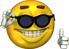 Meme Emoticon Face - ironic meme smiley face with sunglasses stickers by kixlepixel