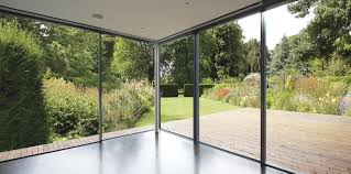 disappearing sliding glass doors minimal windows sliding doors were used as the rear access from