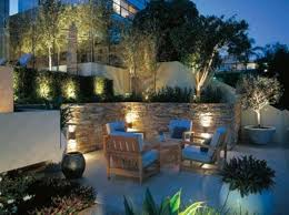Backyard Landscape Lighting Ideas - night yard landscaping with outdoor lights 25 beautiful lighting