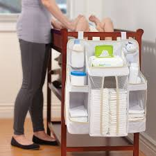amazon com dexbaby diaper caddy and nursery organizer for baby u0027s