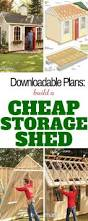 Building A Backyard Shed by Best 25 Diy Storage Shed Ideas Only On Pinterest Diy Shed Plans