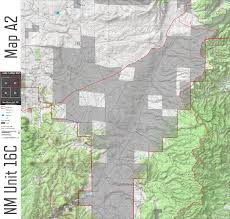 Blm Maps New Mexico by Nm Unit 16c Digital Map