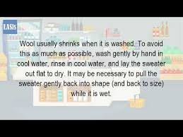 can you shrink a wool sweater in the dryer youtube