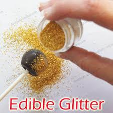 where to buy edible glitter edible cake glitter golden edible sprinkles for cake decoration 2g