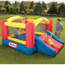 little tikes jump u0027n slide bouncer