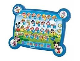 jeux de cuisine de mickey clementoni 52138 l abécé de mickey amazon fr jeux et jouets