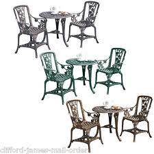 bronze 3 pieces garden u0026 patio furniture sets ebay
