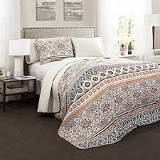 navy and coral bedding amazon com