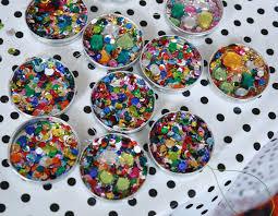 sequin jar lid ornaments