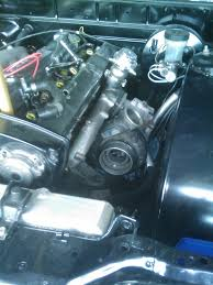 nissan armada exhaust manifold hx35 on stock rb25 manifold no cutting just some welding nissan