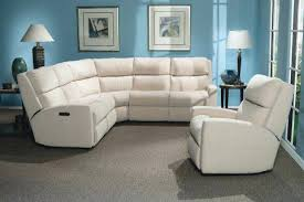 Sectional Recliner Sofa With Cup Holders Appealing Leather Sectional Recliner Sofas Design Gradfly Co