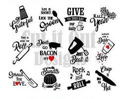 themed quotes 12 kitchen towel designs svg kitchen quotes cut files