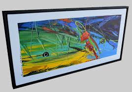 floating frame large