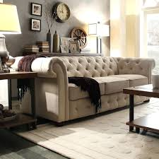 Classic Chesterfield Sofa Classic Scroll Arm Tufted Button Chesterfield Style Sofa Hancock