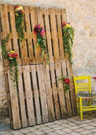 Wedding Backdrop Rustic 35 Eco Chic Ways To Use Rustic Wood Pallets In Your Wedding Deer