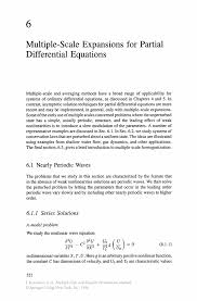 multiple scale expansions for partial differential equations