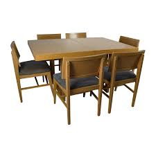 Dining Table And Six Chairs 73 Off Macy U0027s Macy U0027s Branton Counter Height Table With Chairs