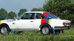 old peugeot for sale 1976 peugeot 504 coupe rally car youtube