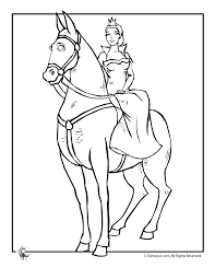 princess horse colouring pages 2 coloring