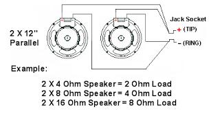 12 guitar speaker cabinet impedance speaker cabinet wiring 300guitars com