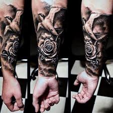 rose tattoo for guys tattoo collections