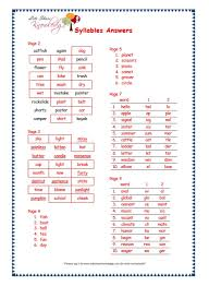 grade 3 grammar topic 22 syllables worksheets lets share knowledge