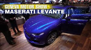 maserati geneva maserati levante geneva motor show 2017 youtube