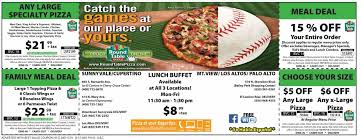 round table pizza roseburg oregon round table pizza buffet coupon images table decoration ideas