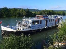 location chambre peniche location bateau au port à draveil avec 4 chambres iha 18871