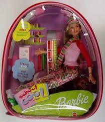 barbie cool doll plastic backpack ebay