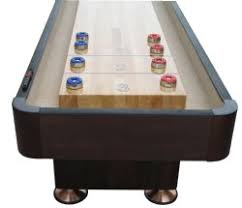 9 Foot Shuffleboard Table by The Standard