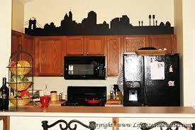 kitchen wall cabinet nottingham nottingham city skyline cityscape decal