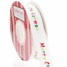 merry christmas ribbon 7 8 merry christmas grosgrain ribbon